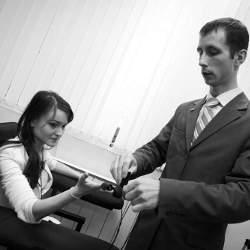 Процедура тестирования при принятии на работу в банк