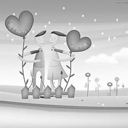 Любовь греет душу...