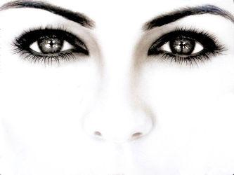 Тёмный цвет глаз