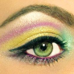 Цвет глаз оливковый характер