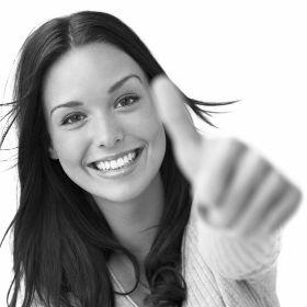 Жест счастливой женщины