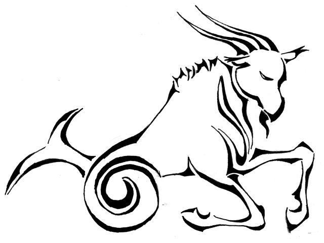 Козерог (Capricorn) - знак Зодиака. Ист.: Devianart/Giyvin