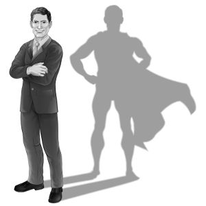 Будьте супергероем в душе