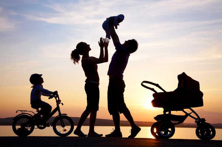 Семья - великое явление природы