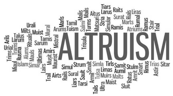 Альтруист - его характер, мотивы, преимущества и недостатки
