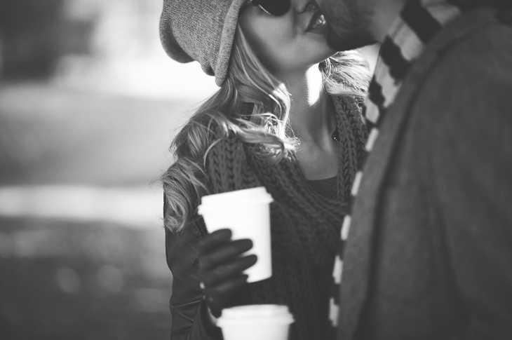 Кофе с любимым парнем