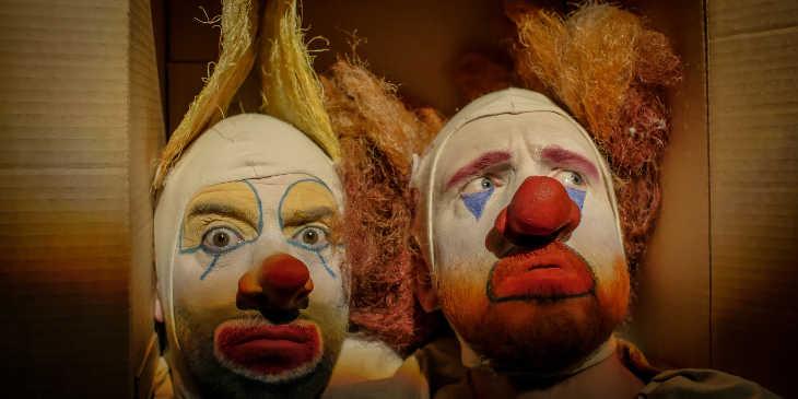 Клоуны в коробке