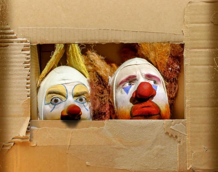 Коулрофобия - это боязнь клоунов