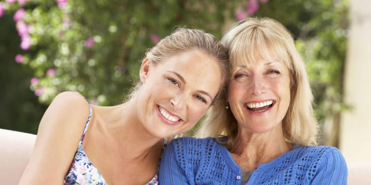 Дочь и мать