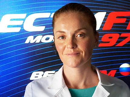Мария Киселева на радио