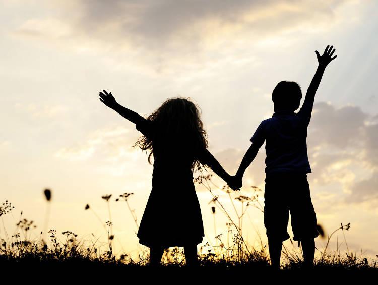 Дружба начинается еще в детстве...