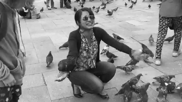 Девушка-орнитофоб пересилила свой страх перед птицами