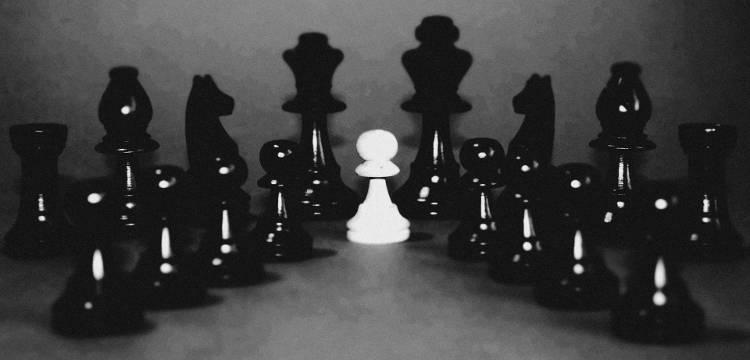 Белый король и Черные рыцари