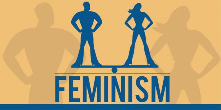 Феминизм требует равенства мужчин и женщин