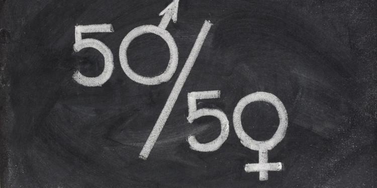 О феминизме кратко - это 50/50, т.е. равенство в правах