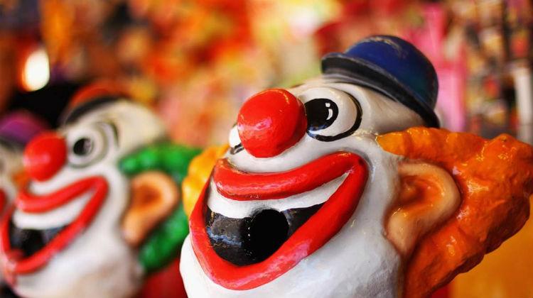 Даже маска или изображение клоуна может вызывать отвращение и страх у коулрофоба